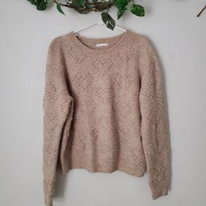 H&M   Wool Heart Sweater   Size M   EUC!